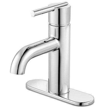 Polished Chrome Fullerton Single Control, Centerset Bath Faucet - F-042-FTCC - 2