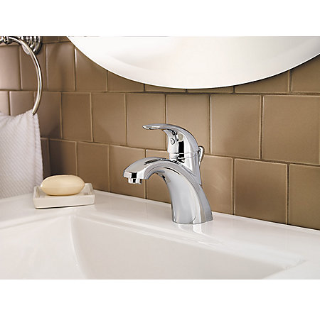 Polished Chrome Parisa Single Control, Centerset Bath Faucet - LF-042-PRCC - 3