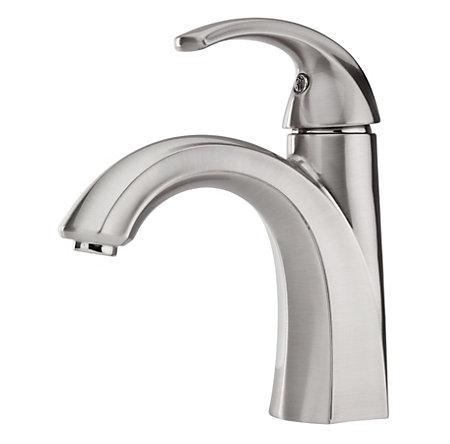 Marvelous Brushed Nickel Selia Single Control, Centerset Bath Faucet   LF 042 SLKK