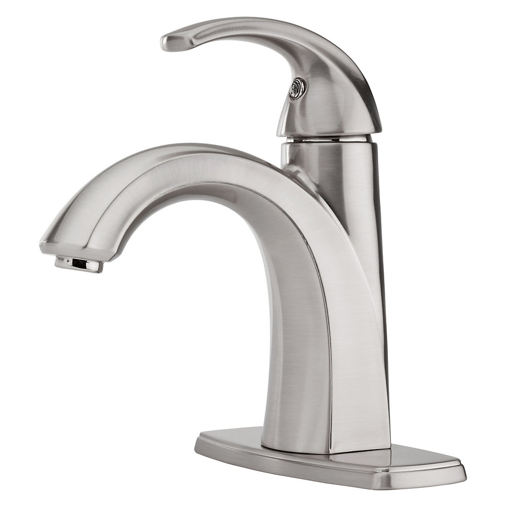 Brushed Nickel Selia Single Control, Centerset Bath Faucet - LF-042 ...