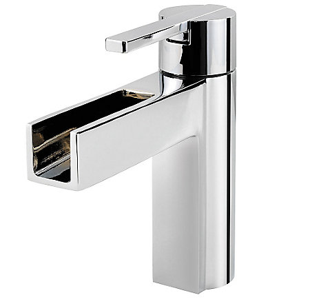Polished Chrome Vega Single Control, Centerset Bath Faucet - LF-042-VGCC - 1