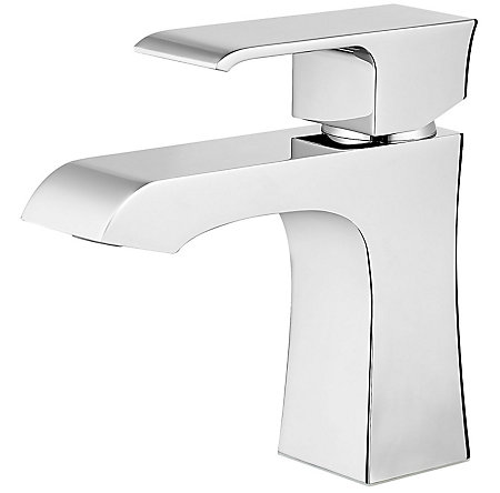 Polished Chrome Vorena Single Control, Centerset Bath Faucet - F-042-VOCC - 1