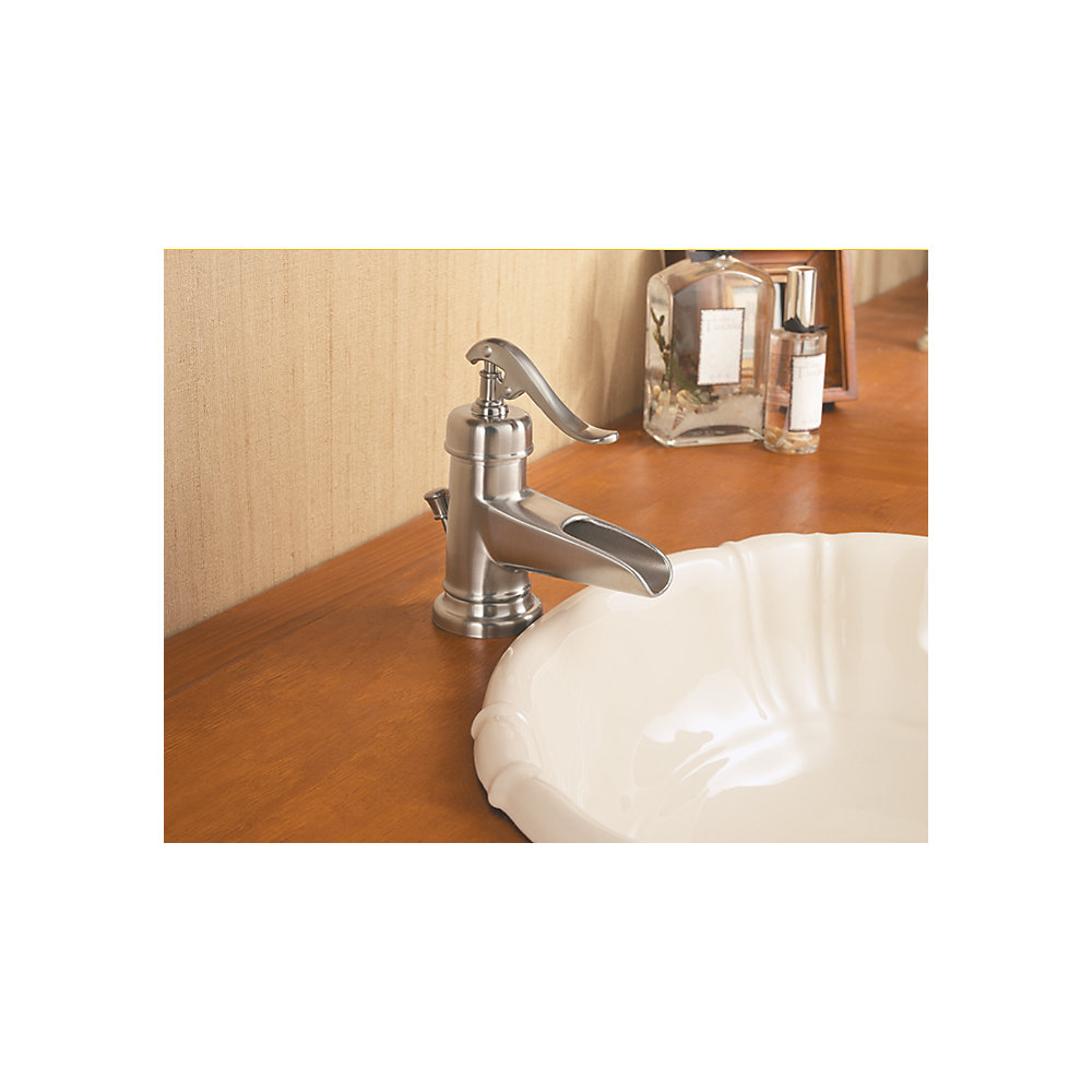 Pfister Ashfield Vessel Bathroom Faucet Brushed Nickel