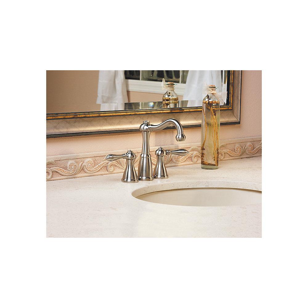Brushed Nickel Marielle Mini Widespread Bath Faucet Lf 046 M0bk 4