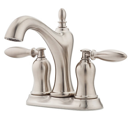 Brushed Nickel Arlington Centerset Bath Faucet - LF-048-ARKK - 1