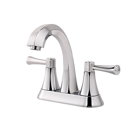 Polished Chrome Altavista Centerset Bath Faucet - LF-048-AVCC - 1