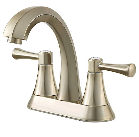 Brushed Nickel Altavista Centerset Bath Faucet - LF-048-AVKK - 1