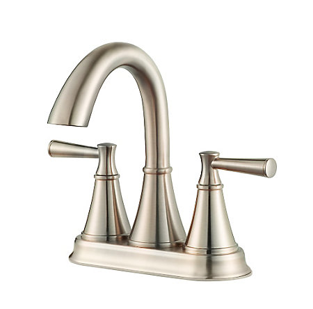 Brushed Nickel Cantara Centerset Bath Faucet - LF-048-CRKK - 1