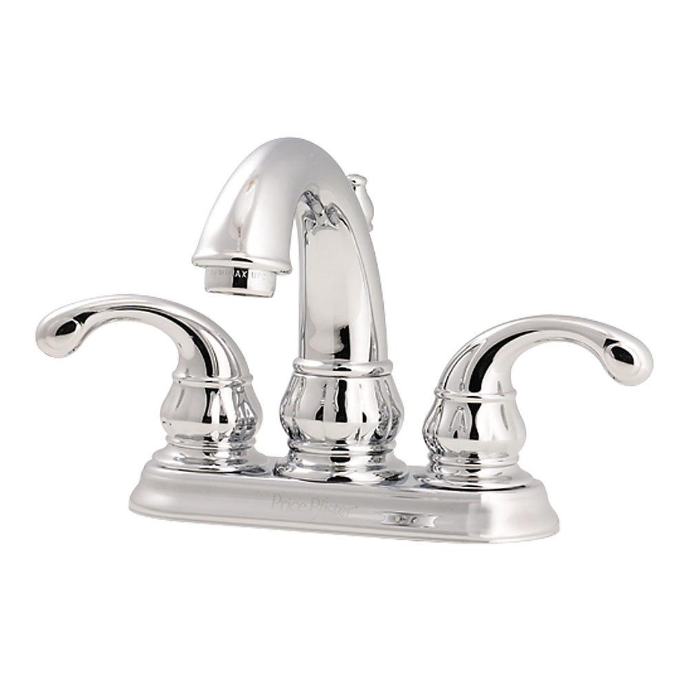 Polished Chrome Treviso Centerset Bath Faucet - LF-048-DC00 ...