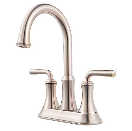 Brushed Nickel Declan Centerset Bath Faucet - LF-048-DNKK - 1