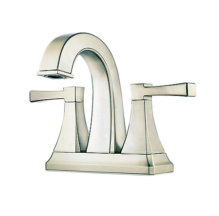 Brushed Nickel Halifax Centerset Bath Faucet - LF-048-HLKK - 1