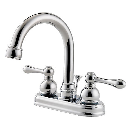 Polished Chrome Wayland Centerset Bath Faucet - LF-048-LHCC - 1