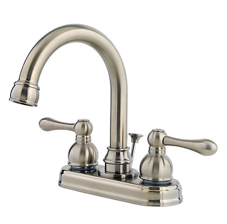 Brushed Nickel Wayland Centerset Bath Faucet - LF-048-LHKK - 1