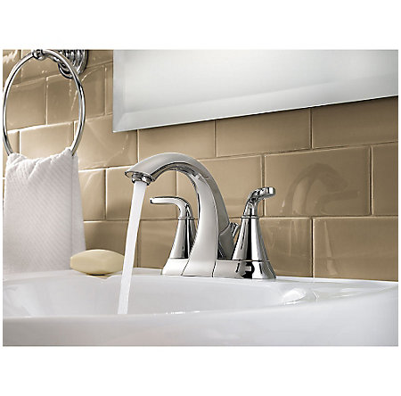 Polished Chrome Pasadena Centerset Bath Faucet - LF-048-PDCC - 3