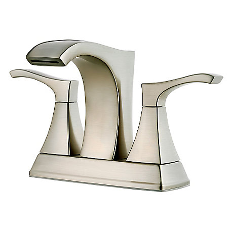 Brushed Nickel Venturi Centerset Bath Faucet - LF-048-VNKK - 1