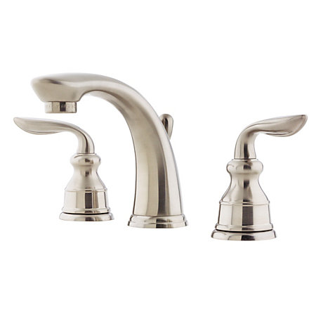 Brushed Nickel Avalon Widespread Bath Faucet - LF-049-CB0K - 1