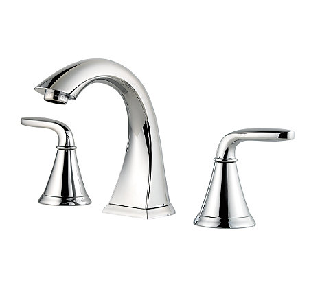 Polished Chrome Pasadena Widespread Bath Faucet - LF-049-PDCC - 1