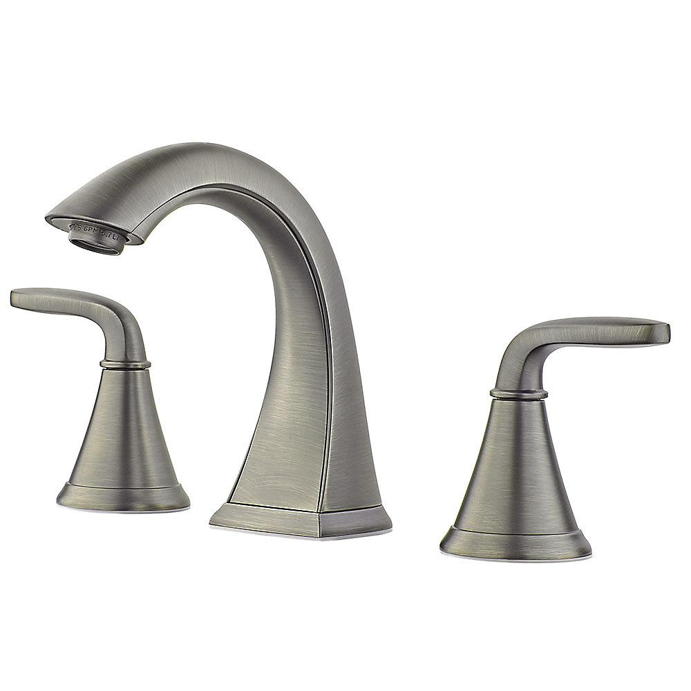 Slate Pasadena Widespread Bath Faucet - LF-049-PDSL | Pfister Faucets