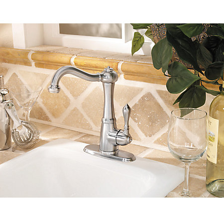 Stainless Steel Marielle 1-Handle Bar and Prep Faucet - LF-072-M1SS - 4