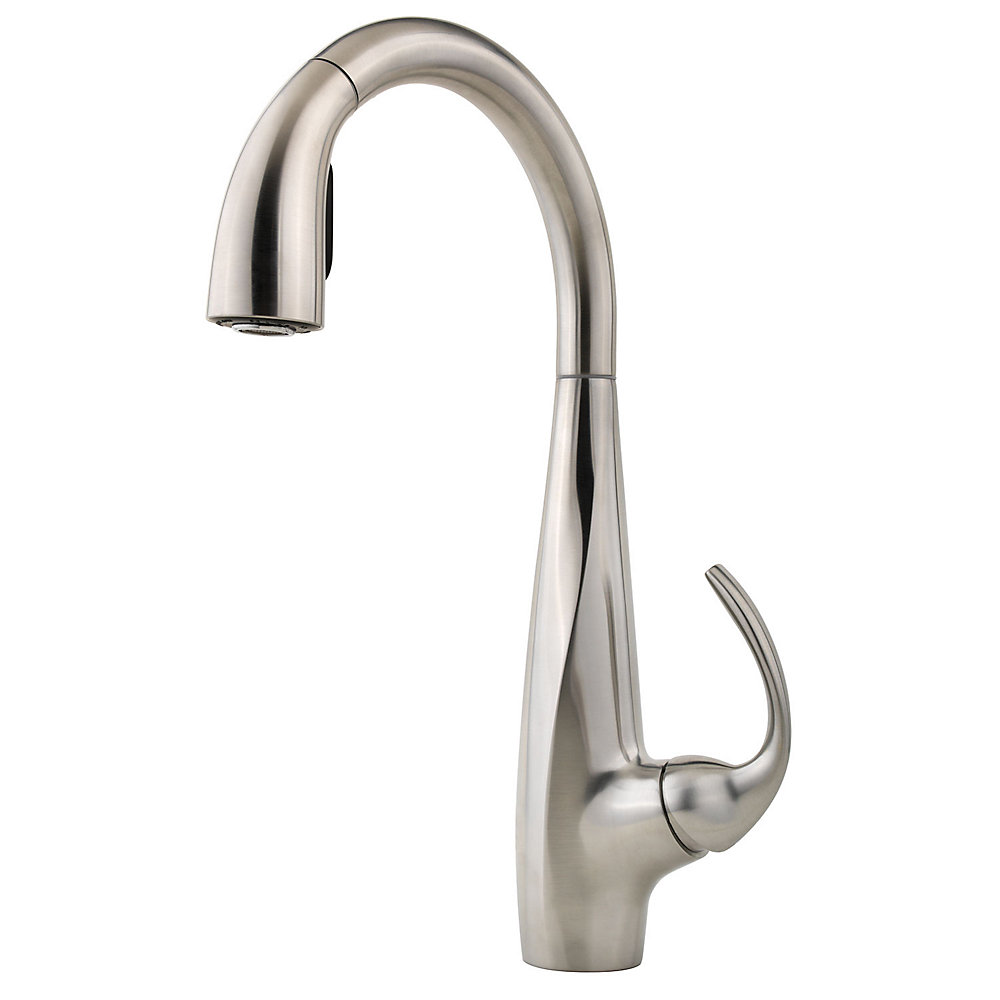 Stainless Steel Avanti 1-Handle, Pull-Down Kitchen Faucet - LF-529 ...