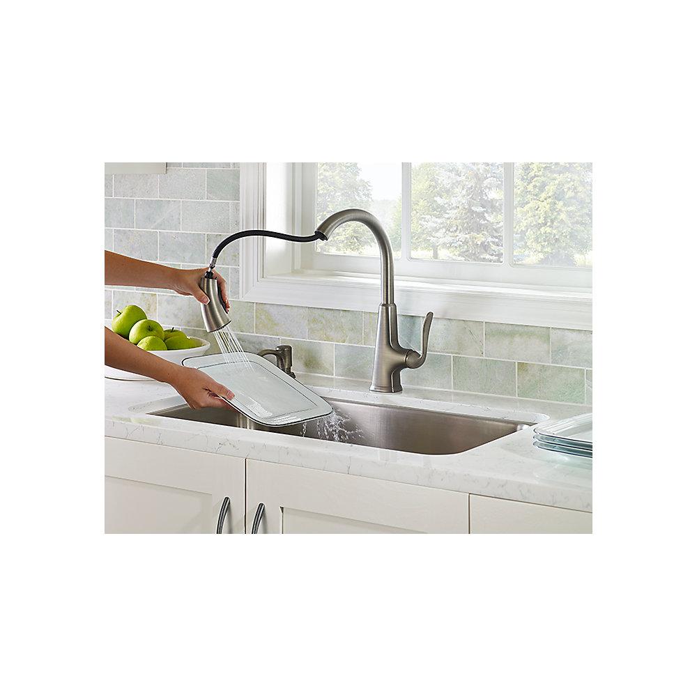 slate pasadena 1 handle pull down kitchen faucet f 529 pdsl slate pasadena 1 handle pull down kitchen faucet f 529