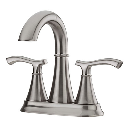 Brushed Nickel Ideal Centerset Bath Faucet - F-548-IDKK - 1
