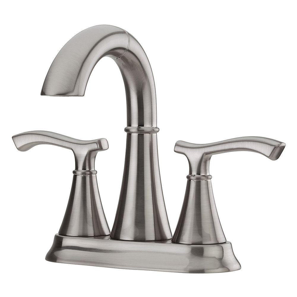 Brushed Nickel Ideal Centerset Bath Faucet - F-548-IDKK | Pfister ...