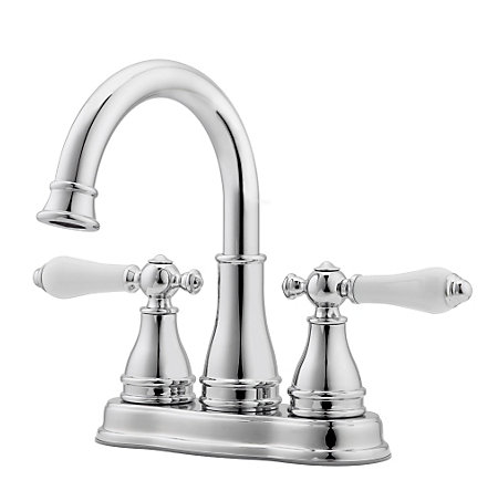 Polished Chrome Sonterra Centerset Bath Faucet - LF-WL2-45PC - 1
