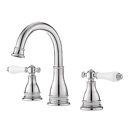 Polished Chrome Sonterra Widespread Bath Faucet Lf Wl8 Snpc Pfister Faucets