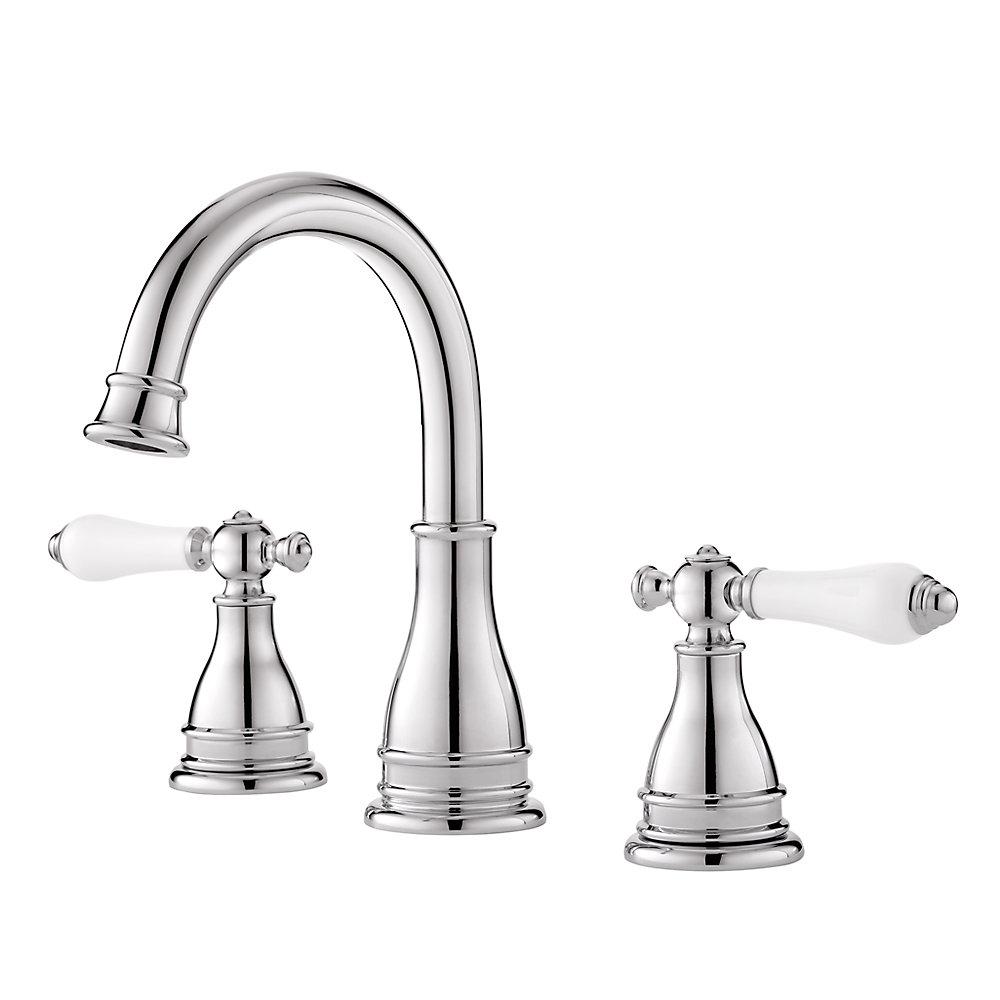 Polished Chrome Sonterra Widespread Bath Faucet - LF-WL8-SNPC ...