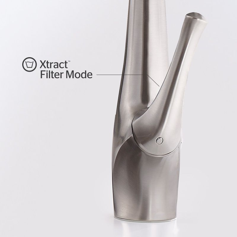 Xtract Faucet in filter position