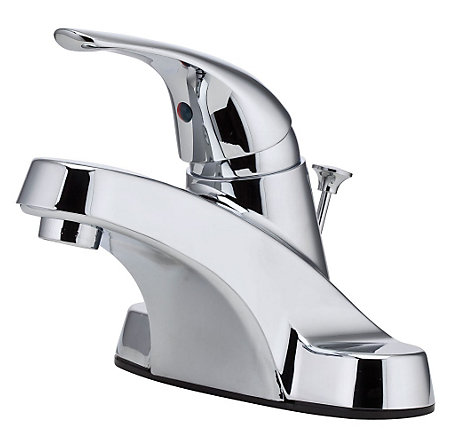 Polished Chrome Pfirst Series Centerset Bath Faucet - LG142-8000 - 1