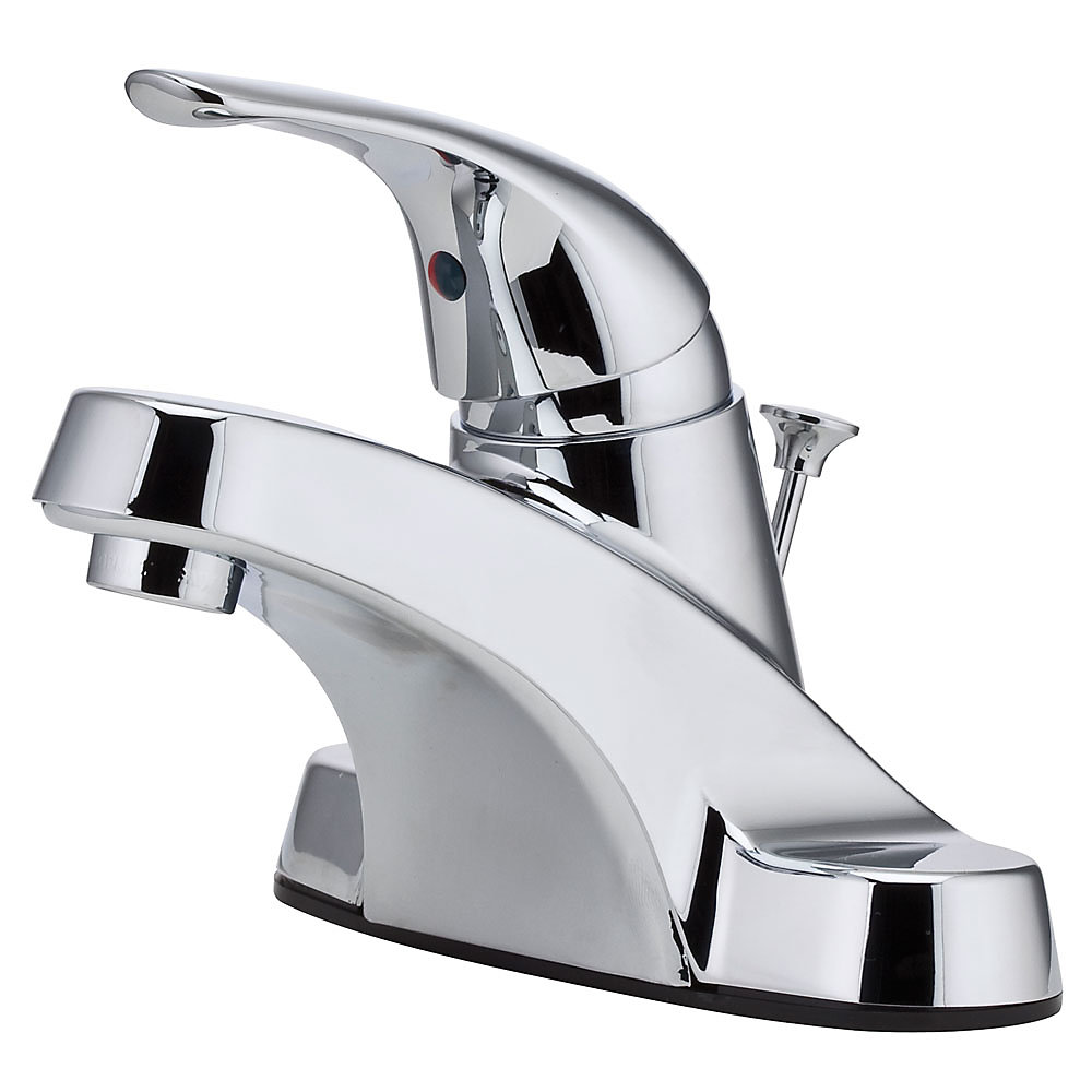 Polished Chrome Pfirst Series Centerset Bath Faucet - LG142-8000 ...