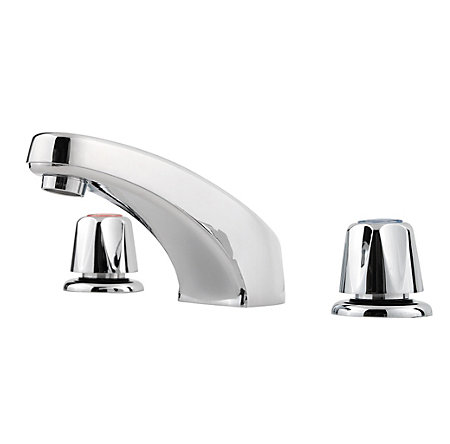 Polished Chrome Pfirst Series Widespread Bath Faucet - LG149-6000 - 1