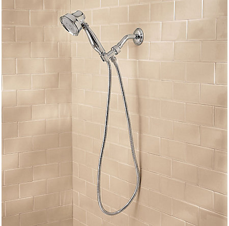 Polished Chrome Avalon Handheld Shower - G16-CB0C - 3