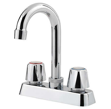 Polished Chrome Pfirst Series Bar/Prep Kitchen Faucet - G171-4000 - 1