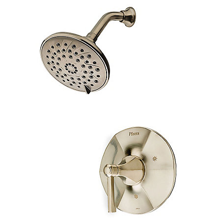 Brushed Nickel Arterra 1-Handle Shower, Trim Only - LG89-7DEK - 1