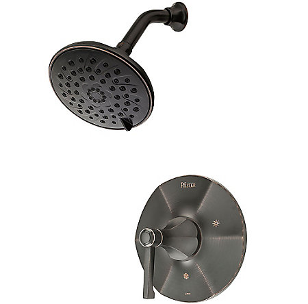Tuscan Bronze Arterra 1-Handle Shower, Trim Only - G89-7DEY - 1