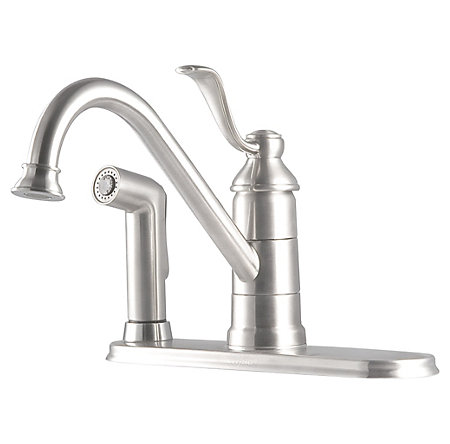 Stainless Steel Portland 1-Handle Kitchen Faucet - LG34-3PS0 - 1