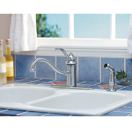 Stainless Steel Marielle 1-Handle Kitchen Faucet - GT34-4TSS - 3