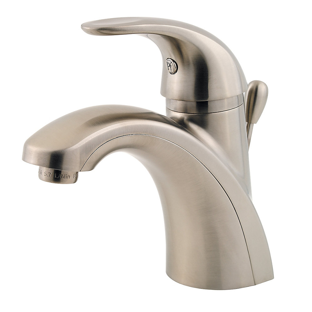 Brushed Nickel Parisa Single Control Centerset Bath Faucet Lg42 Amck 1