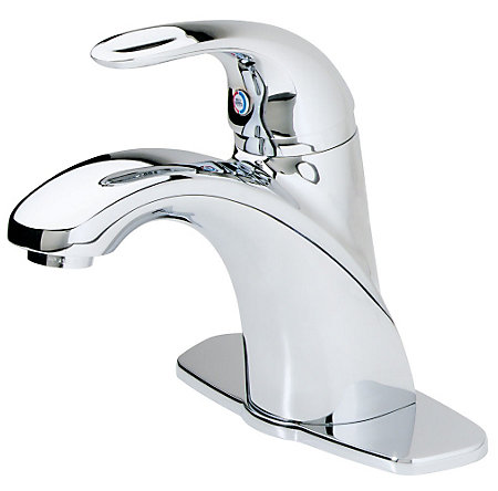 Polished Chrome Parisa Single Control, Centerset Bath Faucet - LG42-ANCC - 1