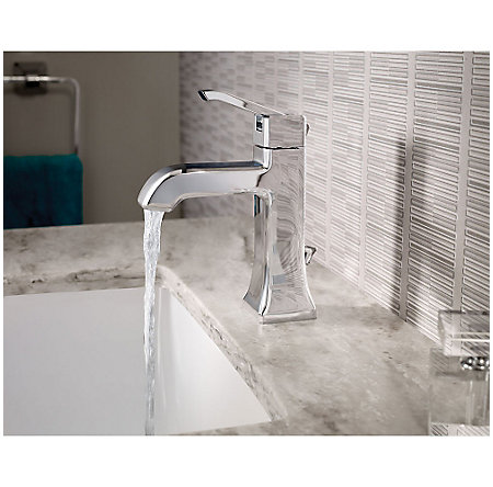 Polished Chrome Park Avenue Single Control, Centerset Bath Faucet - LG42-FE0C - 2