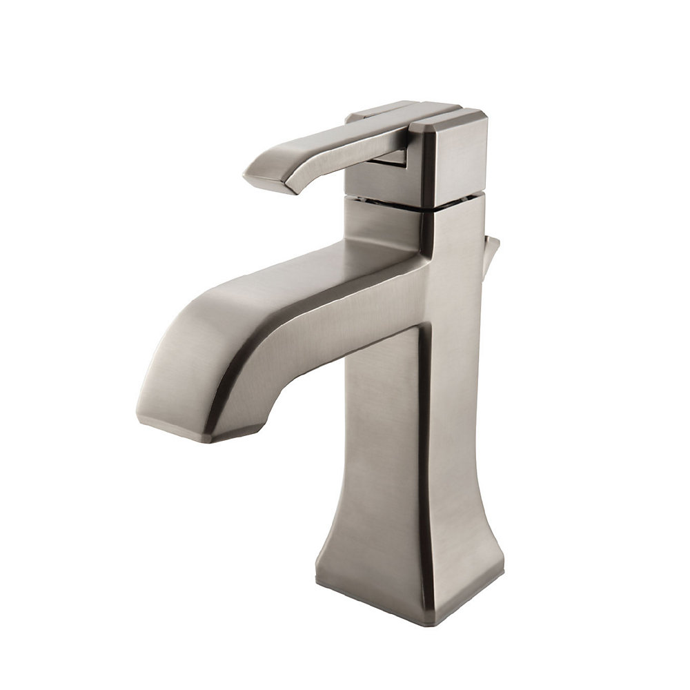 Brushed Nickel Park Avenue Single Control, Centerset Bath Faucet ...