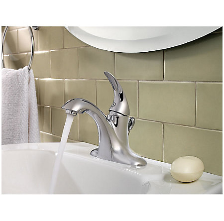 Polished Chrome Serrano Single Control Bath Faucet - LG42-SR0C - 3