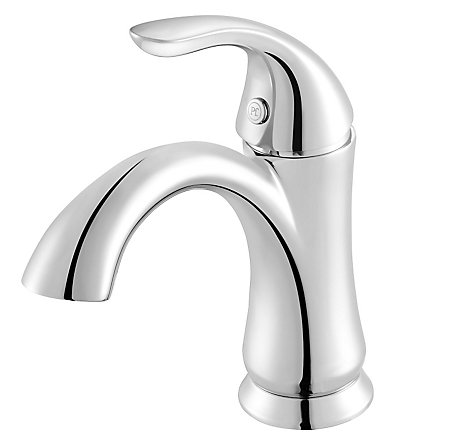 Polished Chrome Serrano Single Control, Centerset Bath Faucet - GT42-SR1C - 1
