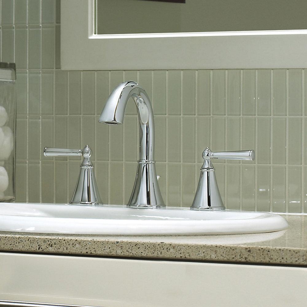 Polished Chrome Saxton Widespread Bath Faucet Lg49 Gl0c 3