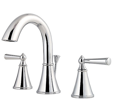 Polished Chrome Saxton Widespread Bath Faucet - LG49-GL0C - 1