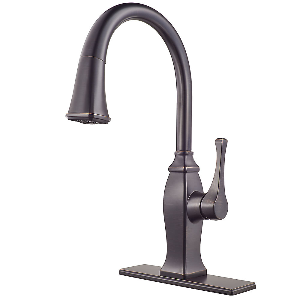 Tuscan Bronze Briarsfield Pull-Down Kitchen Faucet - GT529-BFY ...