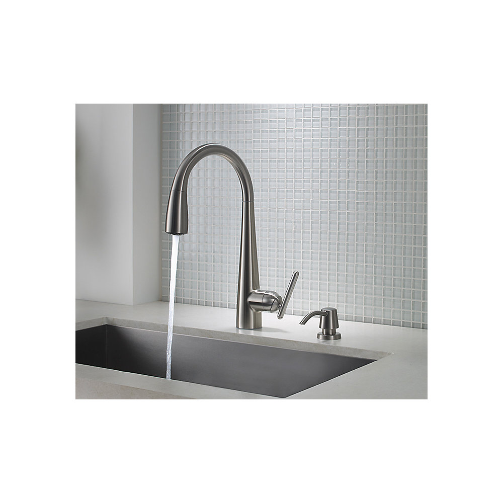 Stainless Steel Lita Pull-Down Kitchen Faucet - GT529-SMS   Pfister ...